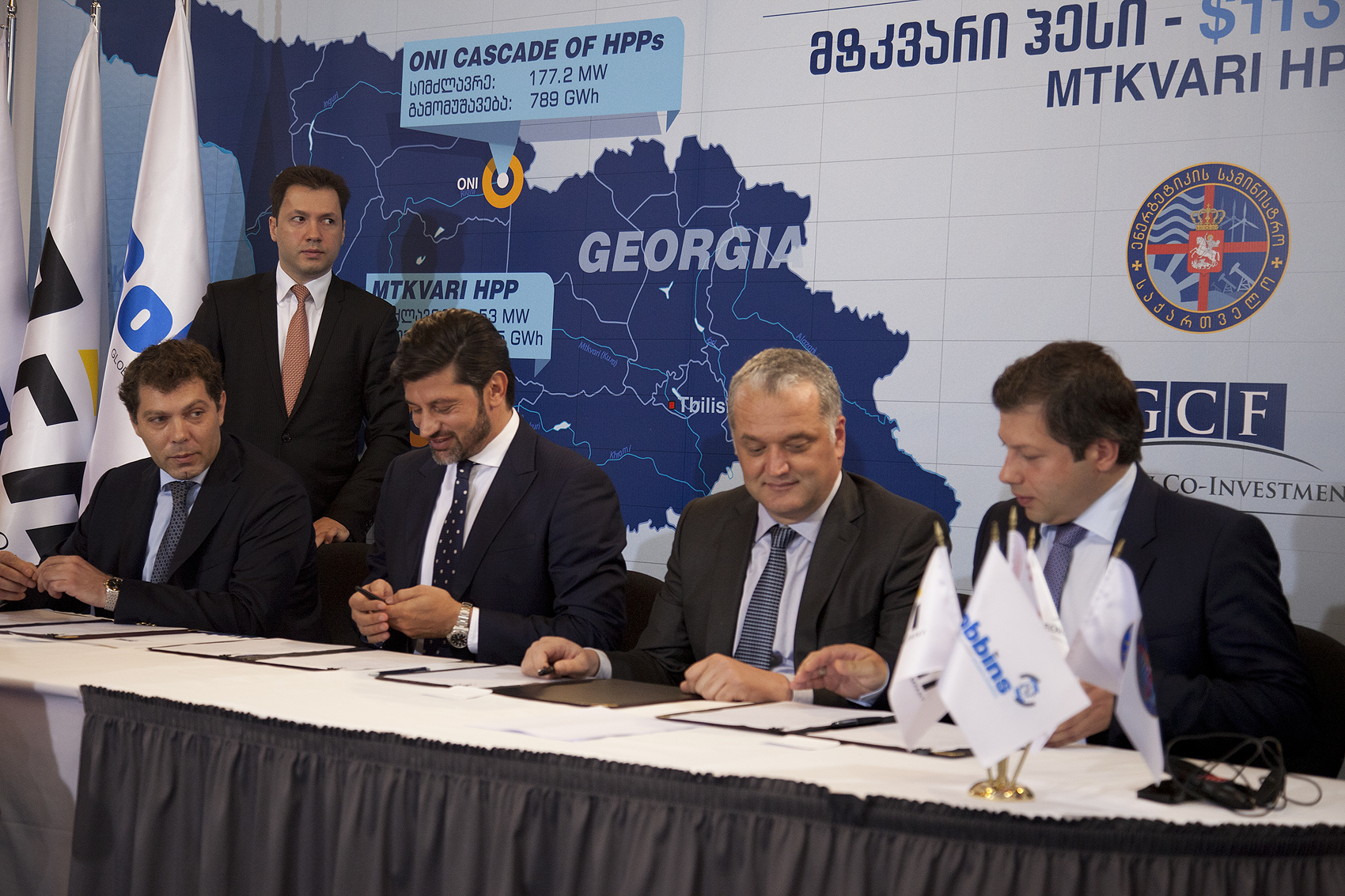 MoU signed for a cascade of Oni HHPs
