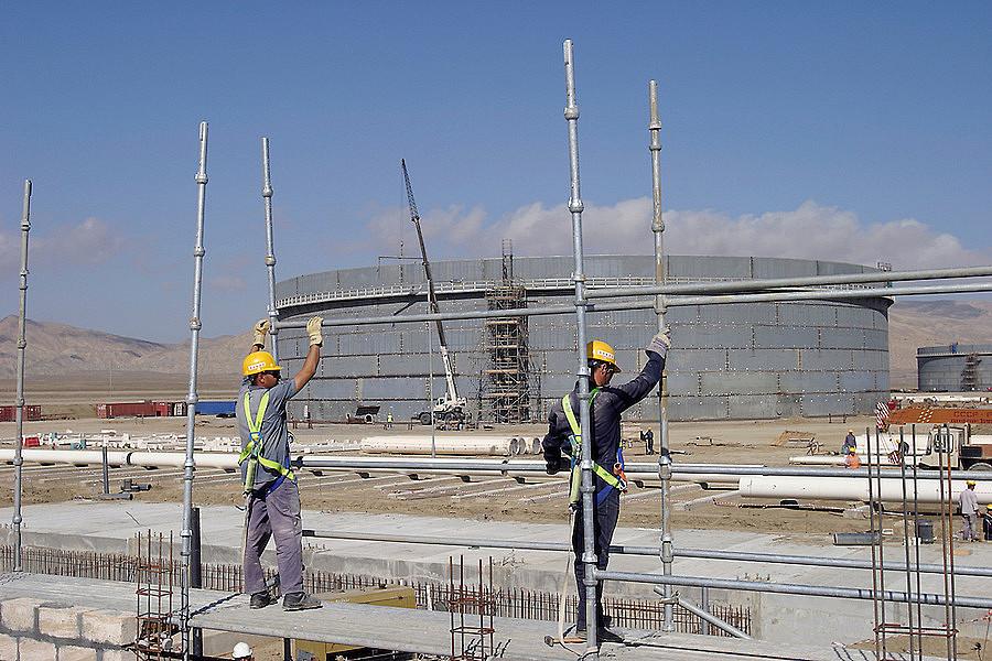 სამშენებლო სამუშაოები MX74-ზე